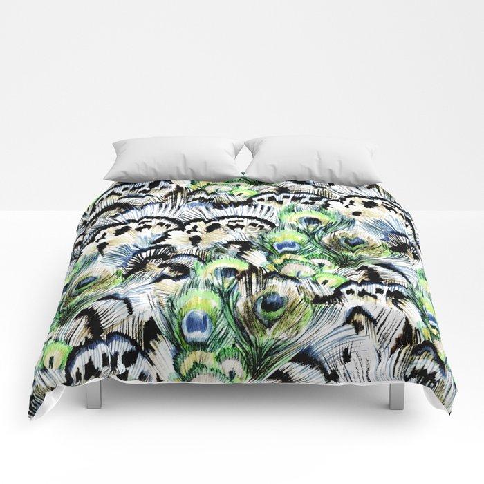 Dancing Peacock Comforters