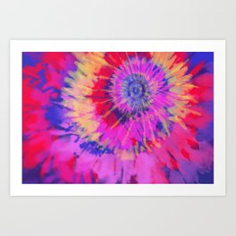 Purple Flare Art Print