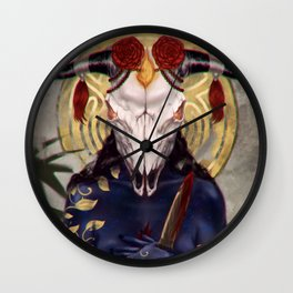 Rebirth Goddess Wall Clock