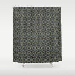Mid Century Modern Diamonds #2 Shower Curtain