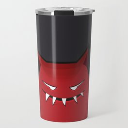 Evil Monster With Pointy Ears Travel Mug