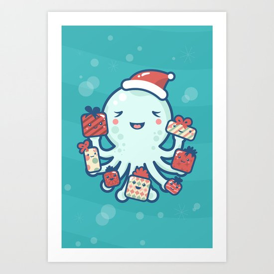 The Gift Giver Art Print