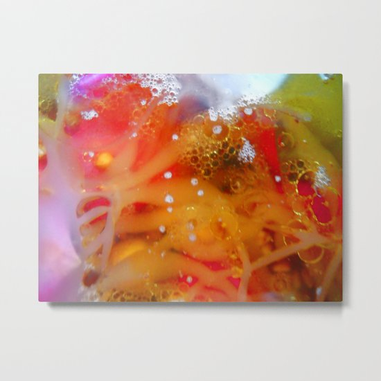 Abstract Rozita Metal Print