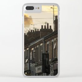 a Coventry Terrace Clear iPhone Case