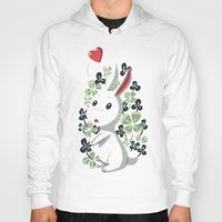 clover Hoodies featuring Clover Bunny by Freeminds