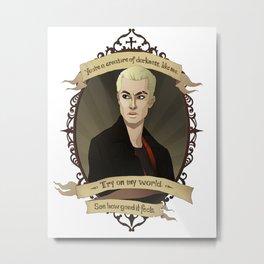 Spike - Buffy the Vampire Slayer/Angel Metal Print
