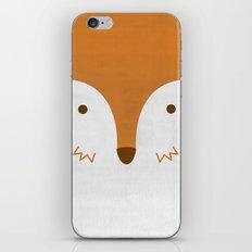 Mr Fleecy Fox iPhone & iPod Skin