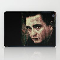 johnny cash iPad Cases featuring Cash by Sirenphotos