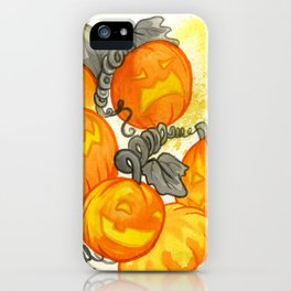 Jack O' Lanterns iPhone Case