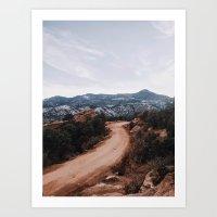 colorado Art Prints featuring Colorado by Joe Greer