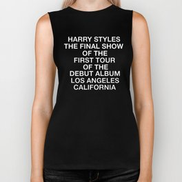 Harry Styles Final Show Biker Tank