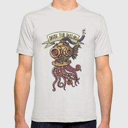 Octopus Diver T-shirt