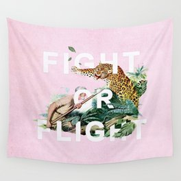 Fight or Flight Wall Tapestry
