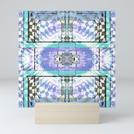 Soul Door Number Four Contemporary Psychedelic Abstract Mini Art Print
