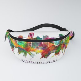 Vancouver Canada Skyline Fanny Pack