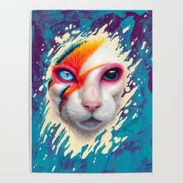A Cat Insane Poster