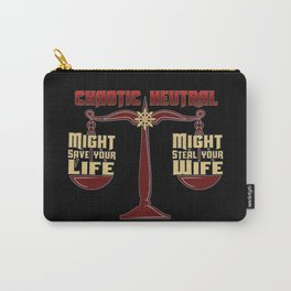 D&D - Chaotic Neutral Carry-All Pouch