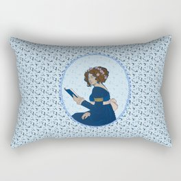 Elizabeth Bennet - Pride and Prejudice Rectangular Pillow