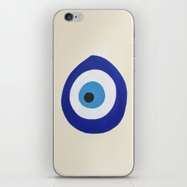 Blue Evil Eye iPhone Skin