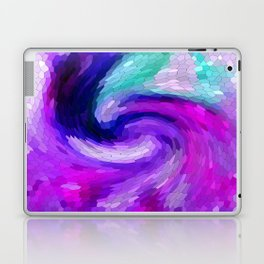 lilic swirl Laptop & iPad Skin