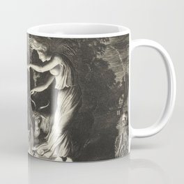Witch - 17th Century Illustration Coffee Mug