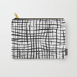 Black White Collection [P01] Carry-All Pouch