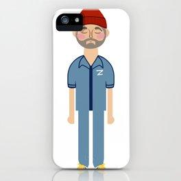 Steve Zissou 1 iPhone Case