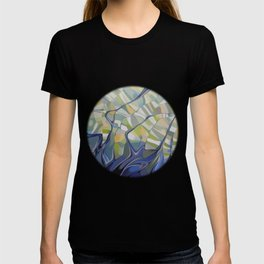 The earth seen from the space T-shirt