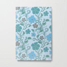 Dotty mosaic pattern Metal Print