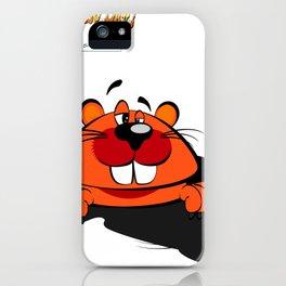 Happy groundhog day iPhone Case