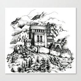 Dragonsreach Canvas Print