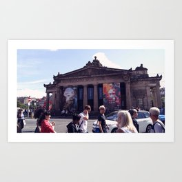 National Gallery (Edinburgh) Art Print