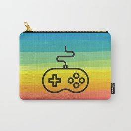 Gamer By Nature - rainbow joystick Carry-All Pouch