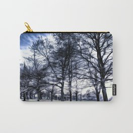 Greenwich Park London Art Carry-All Pouch