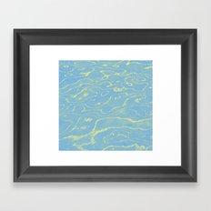 Melting Sky Framed Art Print