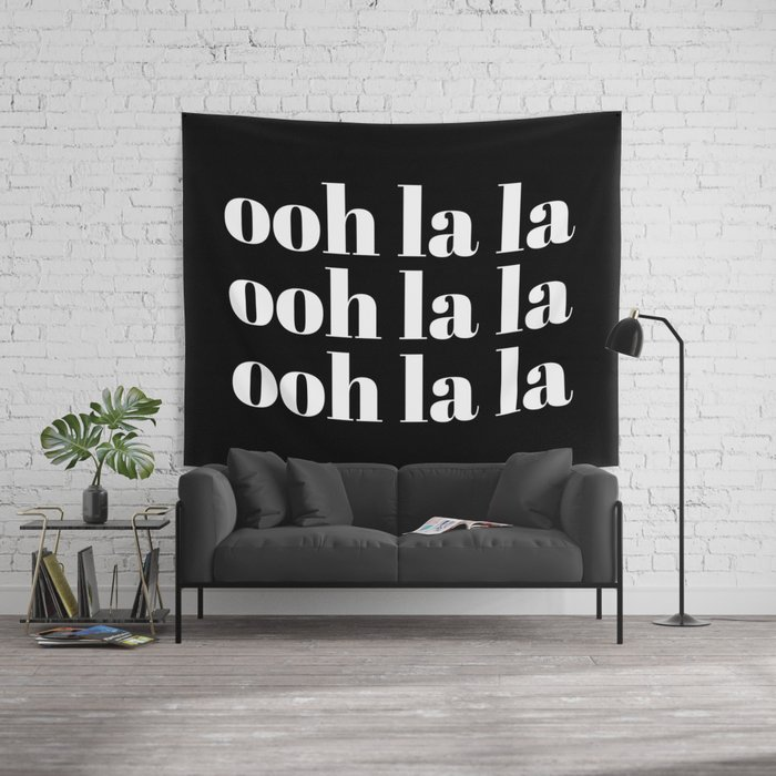 Ooh La La Wall Tapestry By Typutopia Society6