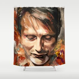 Autumn - cropped Shower Curtain