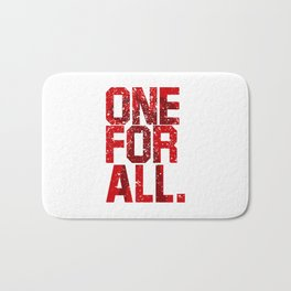 one for all Bath Mat