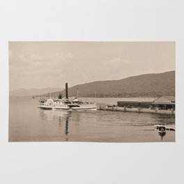 The Horicon I Steamboat (sepia) Rug