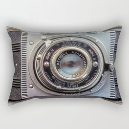 Detrola (Vintage Camera) Rectangular Pillow