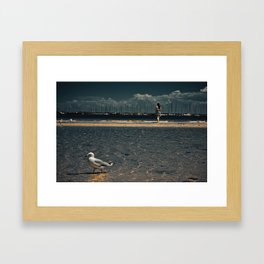 Overstep Framed Art Print