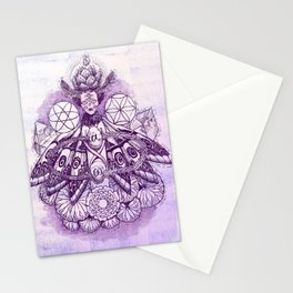 Crown Chakra - Witches of the Nine Worlds Stationery Cards