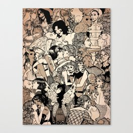 Strange Love Canvas Print