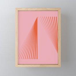 LINES001 Framed Mini Art Print