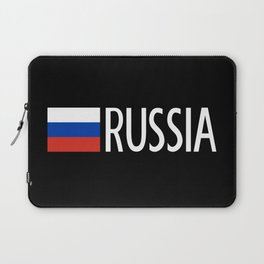 Russia: Russian Flag & Russia Laptop Sleeve