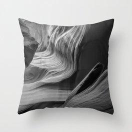 Canyon Flow Throw Pillow