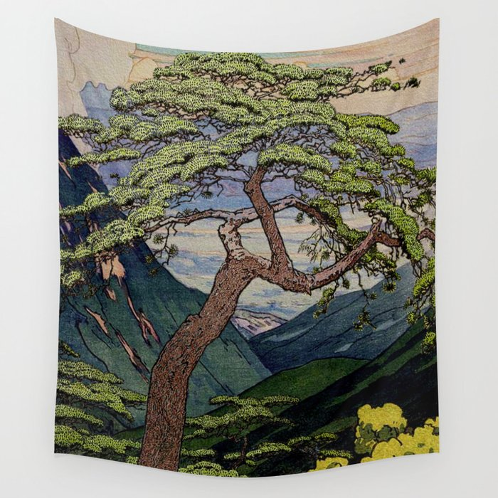 The Downwards Climbing Wall Tapestry