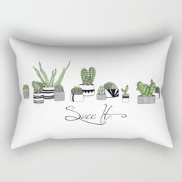 Succ It Rectangular Pillow