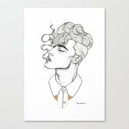 Gold Tipping Canvas Print