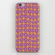 Diamonds are Forever-Fiesta Colors iPhone & iPod Skin
